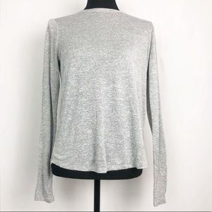 Vince Gray Long Sleeve Top